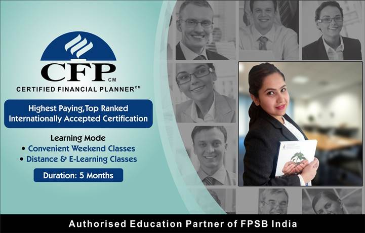 Certified Financial Plannercfp Certification Training Course In